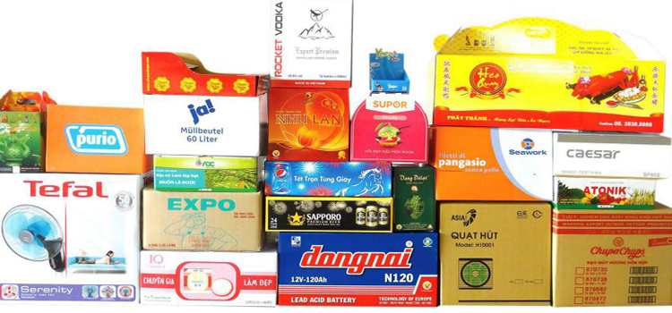 in thùng carton, sản xuất thùng carton
