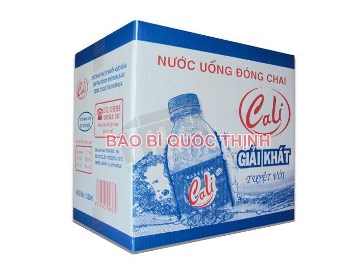 thùng carton 3 lớp in offset đựng nước uống đóng chai - hinh 4